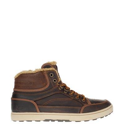 Skechers heren enkelboots bruin
