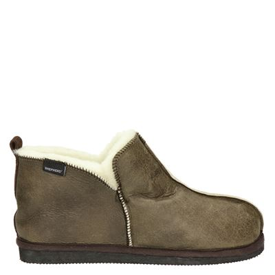 Shepherd heren pantoffels bruin
