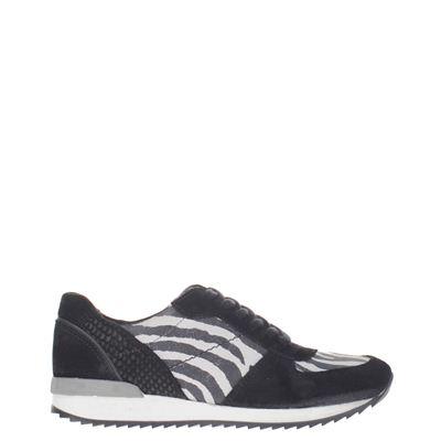Poelman  dames sneakers zwart