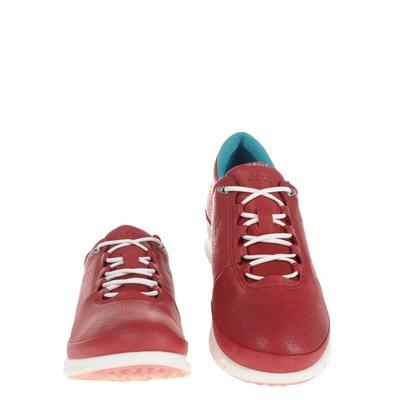Ecco dames veterschoenen rood