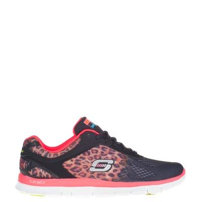 Skechers dames sneakers bruin
