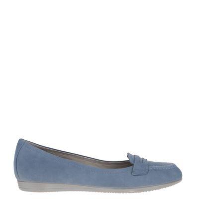 Ecco dames ballerinas blauw