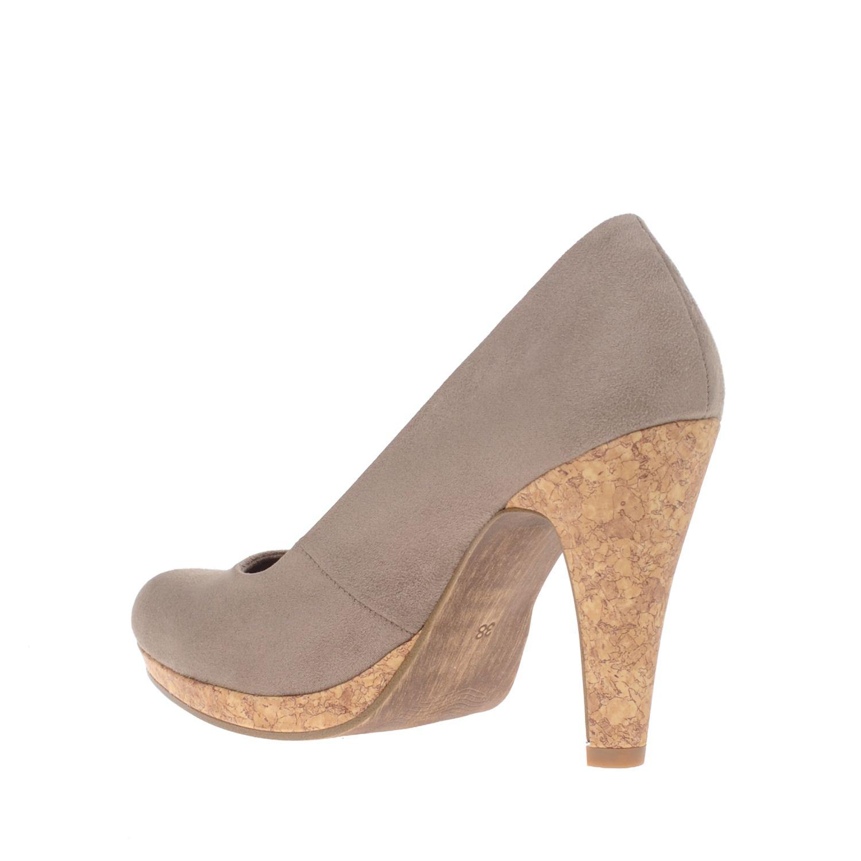 marco tozzi dames pumps taupe nelson schoenen. Black Bedroom Furniture Sets. Home Design Ideas