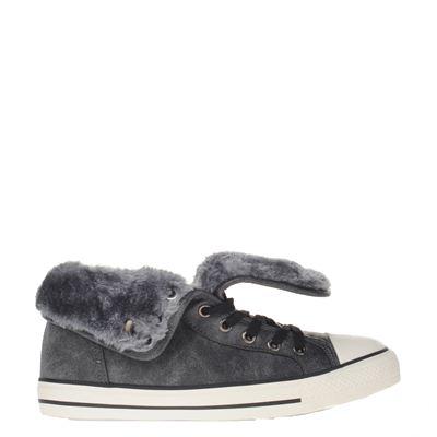 Hobb's dames enkelboots grijs