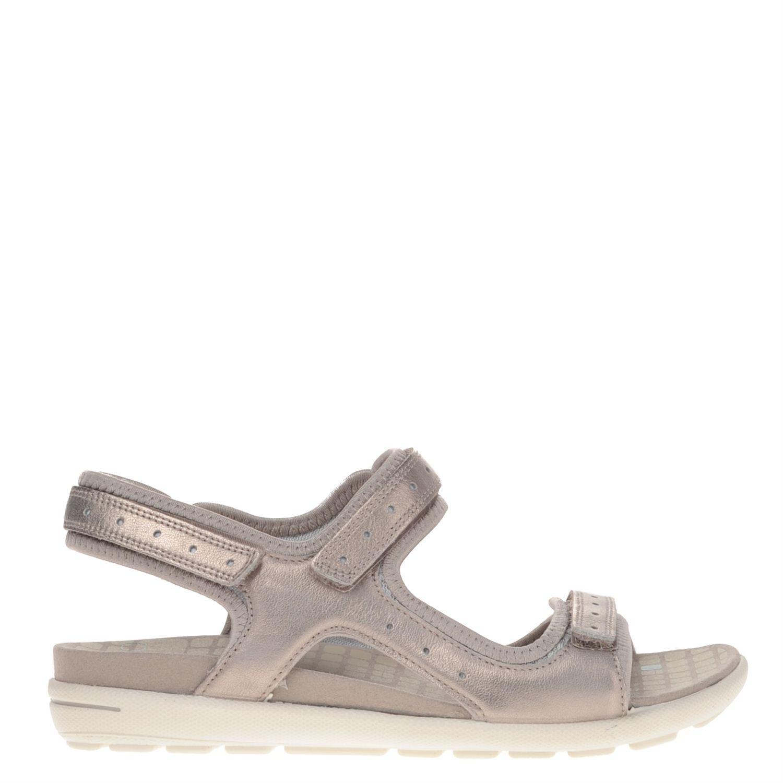 Dames sandaal jab van het merk ecco uitgevoerd in leer. de sandaal heeft een uitstekende grip op diverse ...