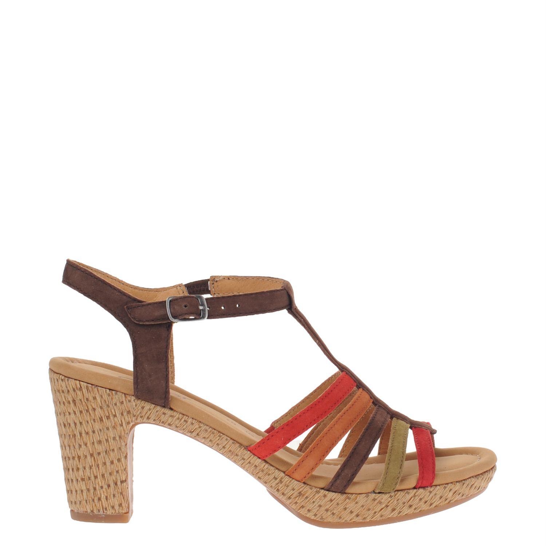 gabor dames sandalen bruin nelson schoenen. Black Bedroom Furniture Sets. Home Design Ideas