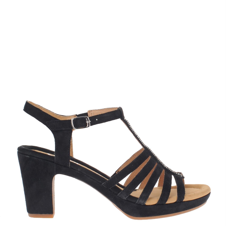 gabor dames sandalen zwart. Black Bedroom Furniture Sets. Home Design Ideas