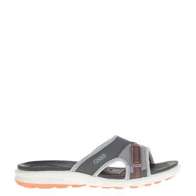Ecco dames slippers grijs