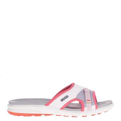 Ecco dames slippers ecru