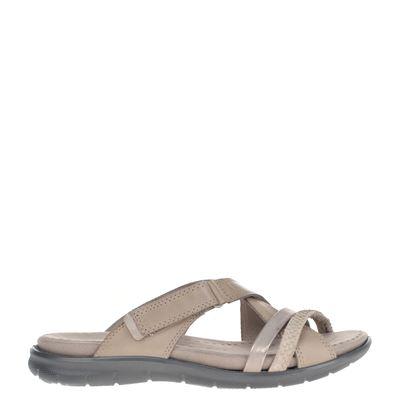 Ecco dames slippers beige