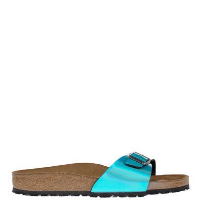 Birkenstock dames slippers blauw