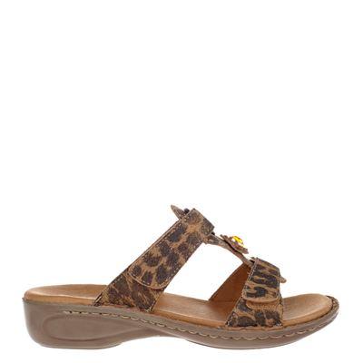 Ara dames slippers bruin