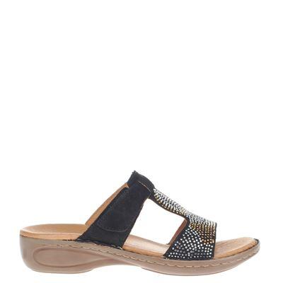 Ara dames slippers zwart