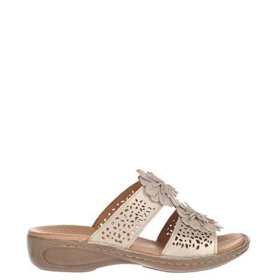 Ara dames slippers goud