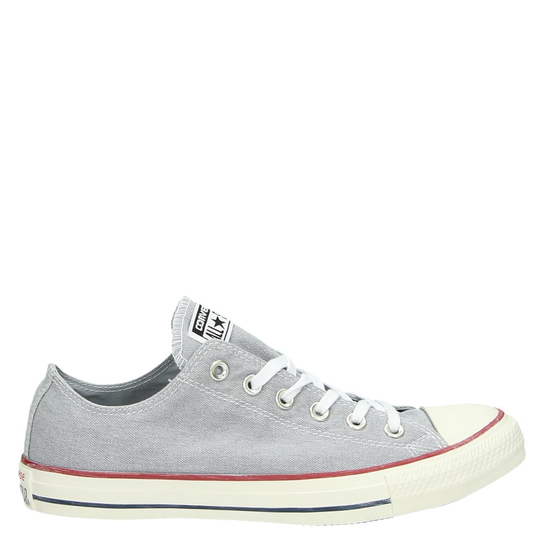 13e1420bb08 Converse Chuck Taylor All Star heren lage sneakers grijs