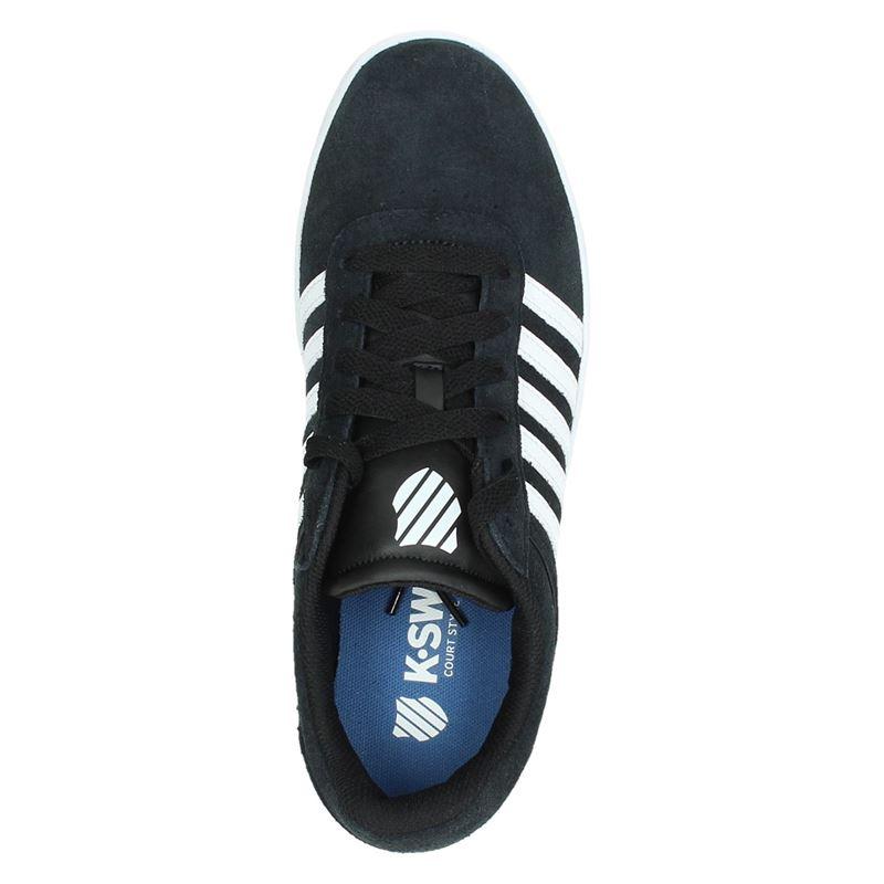 K-Swiss Court Cheswick - Lage sneakers - Zwart