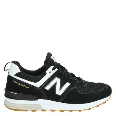 New Balance heren sneakers zwart