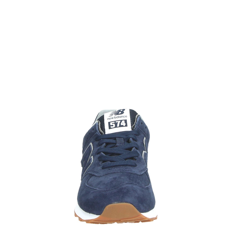 new balance 574 heren blauw