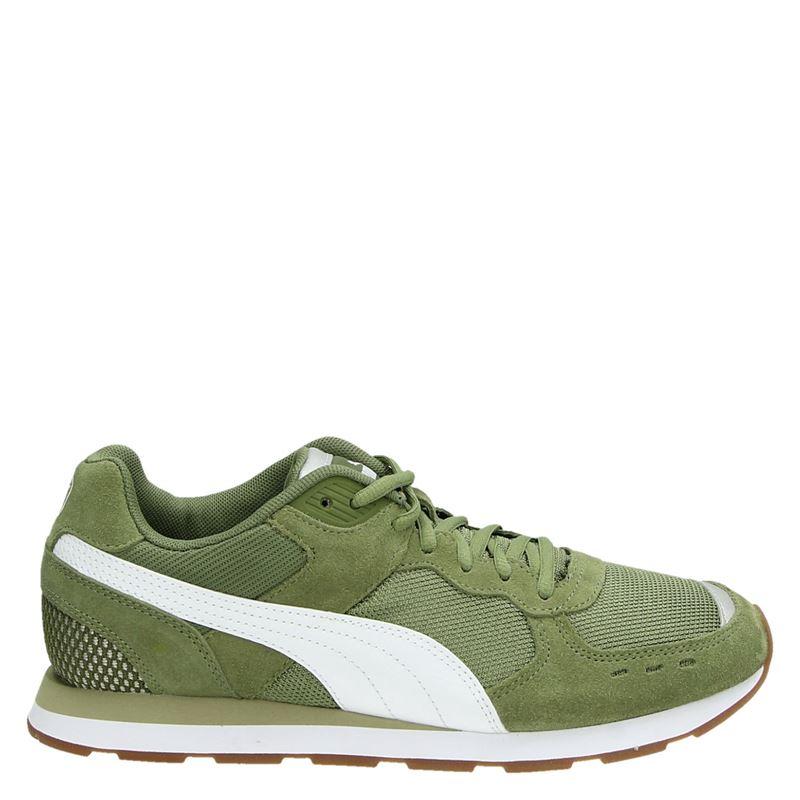 1c0e1fa3ec8 Puma Soft Foam heren lage sneakers groen