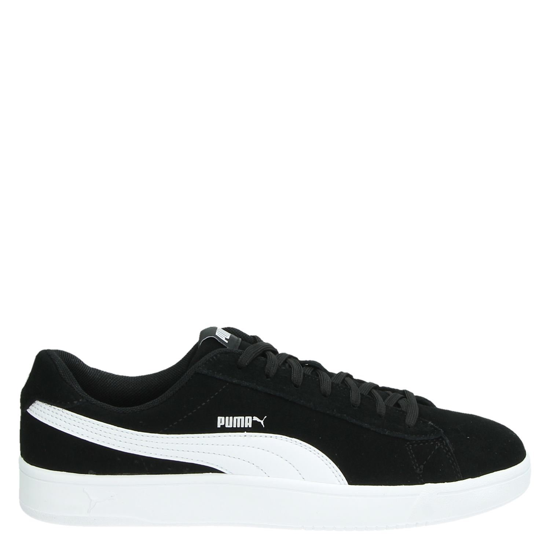 0e0ee2a7b8c Puma Soft Foam heren lage sneakers zwart