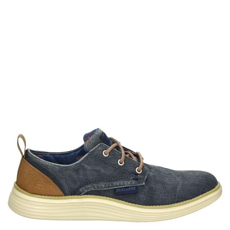 Skechers - Veterschoenen - Blauw