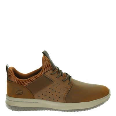 Skechers heren sneakers bruin