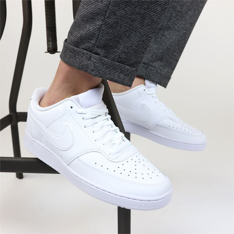 Nike Court Vision Low - Lage sneakers - Wit