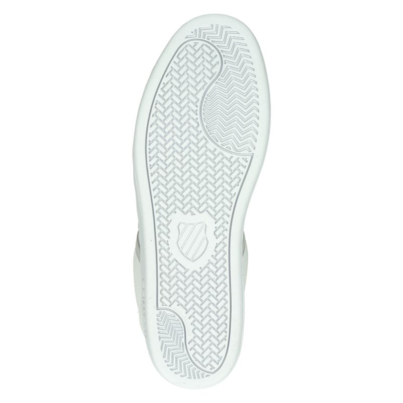 K-Swiss Court Winston - Lage sneakers - Wit