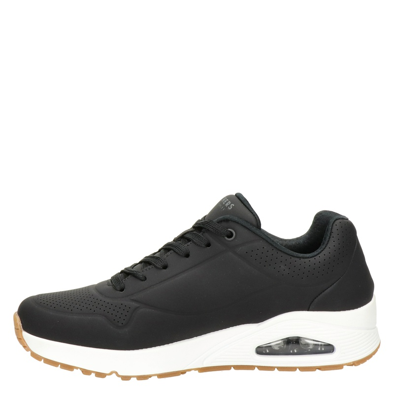 Skechers Street Stand On Air - Lage sneakers - Zwart