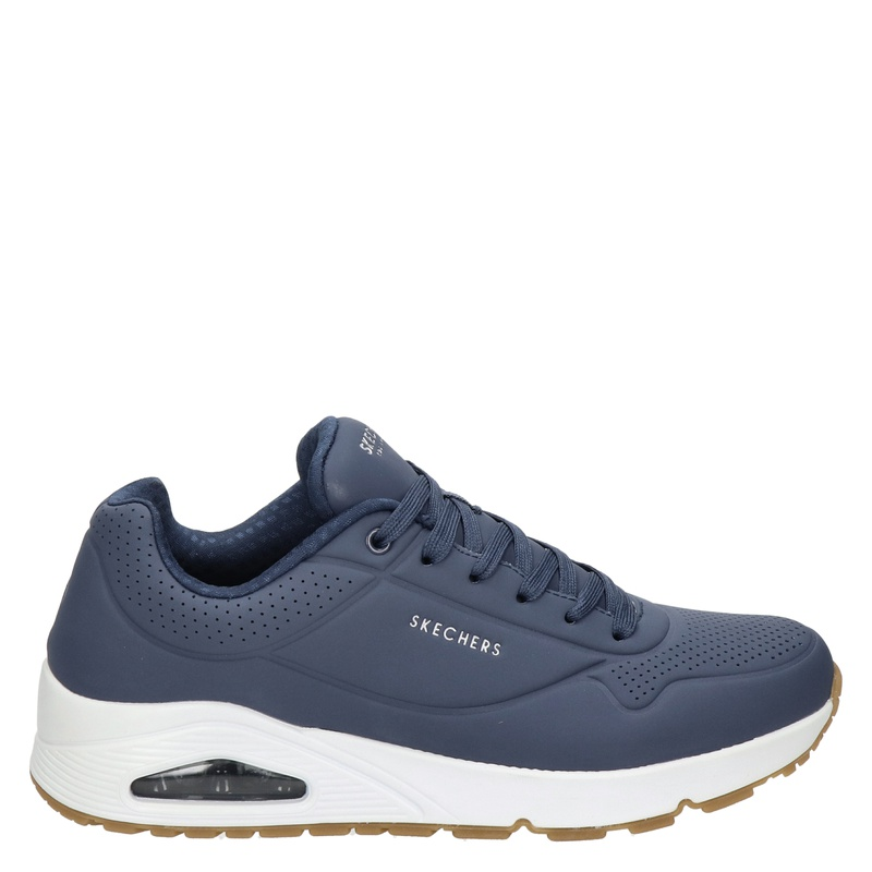 Skechers Street Stand On Air - Lage sneakers - Blauw
