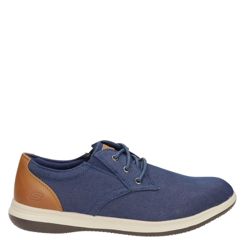 Skechers Classic Fit - Lage sneakers - Blauw