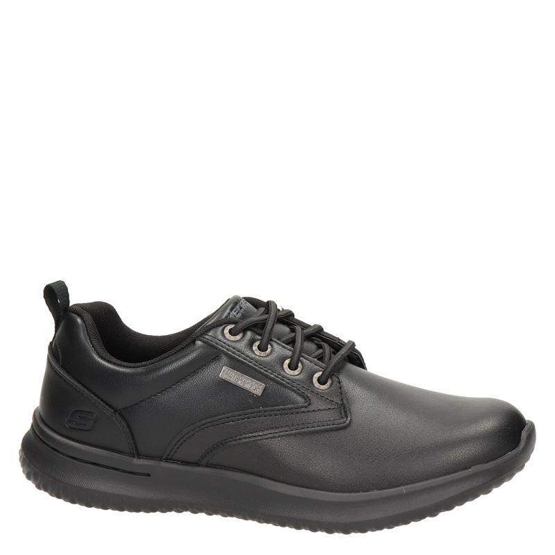 Skechers - Veterschoenen - Zwart