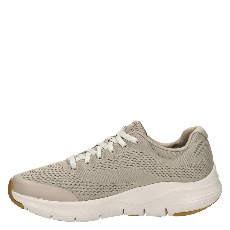 Skechers Arch Fit - Lage sneakers - Taupe