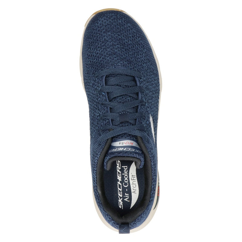 Skechers Arch Fit - Lage sneakers - Blauw