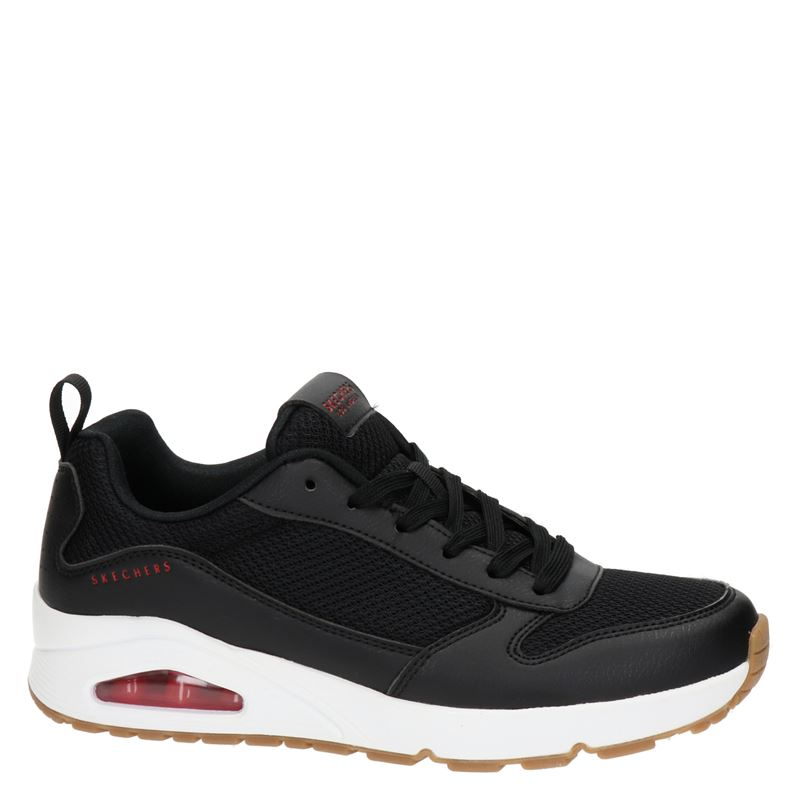Skechers Uno - Lage sneakers - Zwart