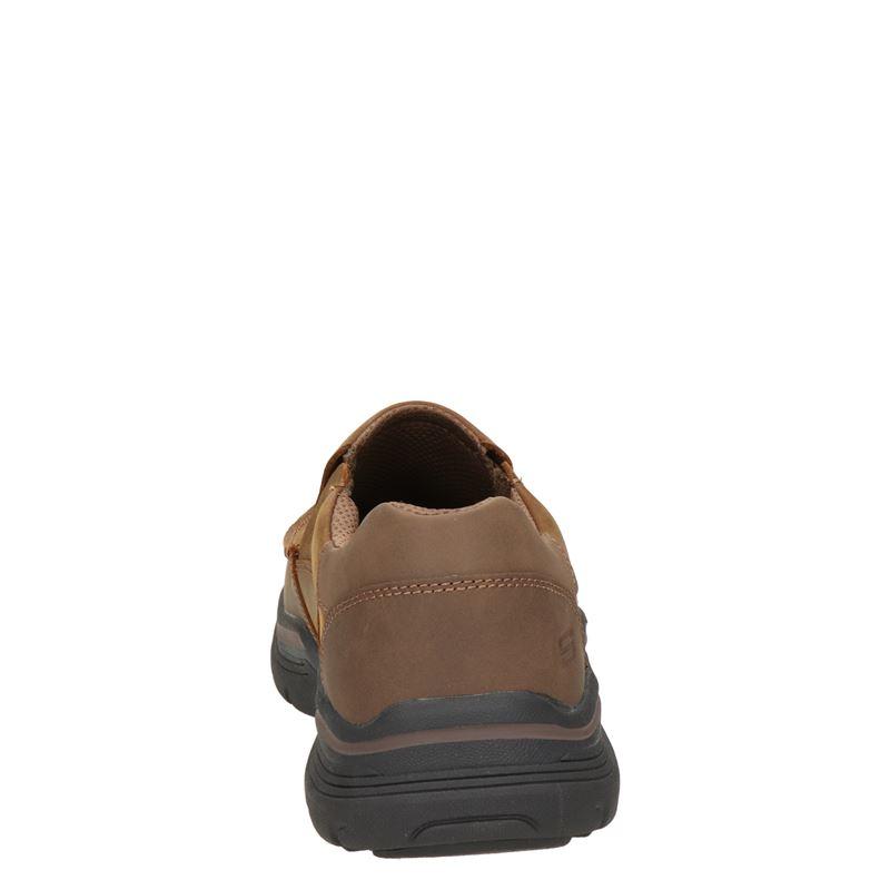 Skechers - Instapschoenen - Bruin