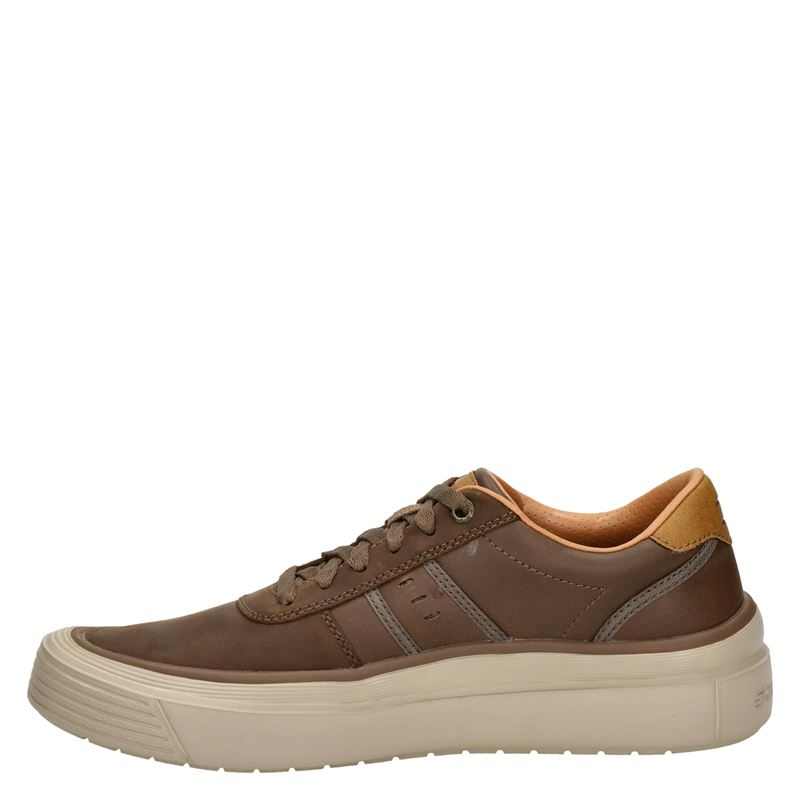 Skechers Viewport Brambo - Lage sneakers - Bruin