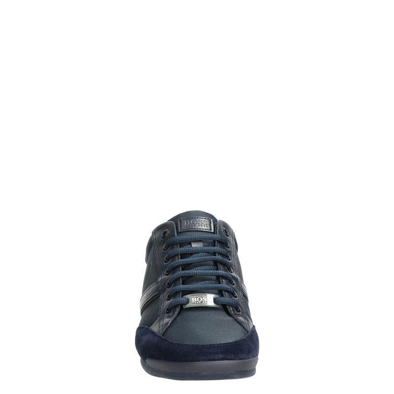 Hugo Boss Saturn MX - Lage sneakers - Blauw