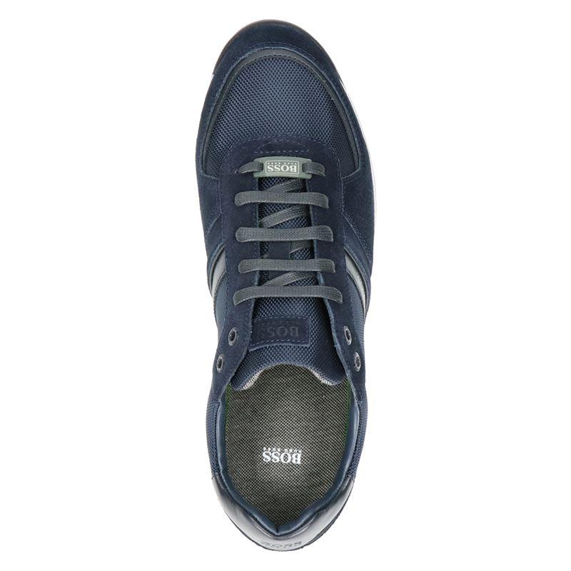 Hugo Boss Glaze Low P MX - Lage sneakers - Blauw