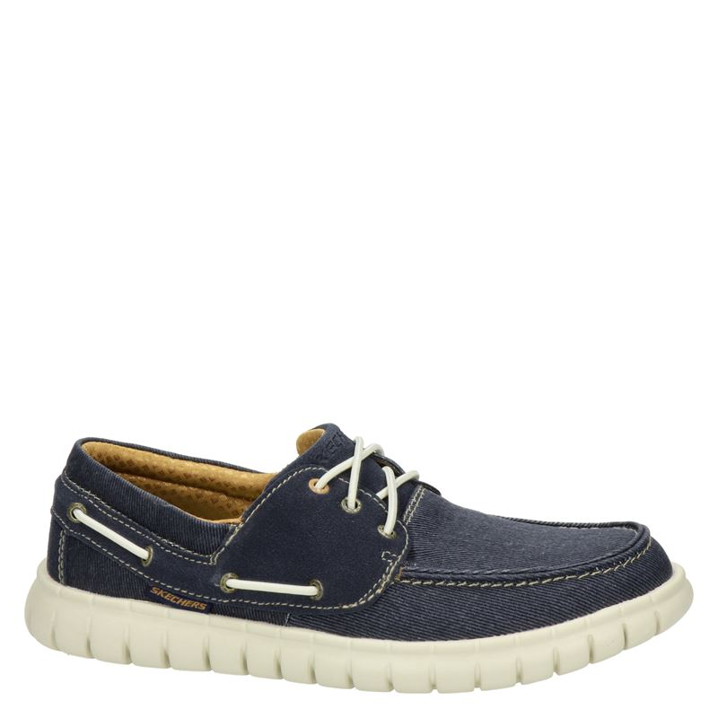 Skechers Classic Fit - Mocassins & loafers - Blauw