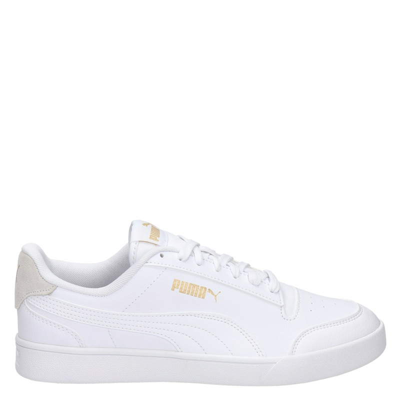 Puma Shuffle - Lage sneakers - Wit