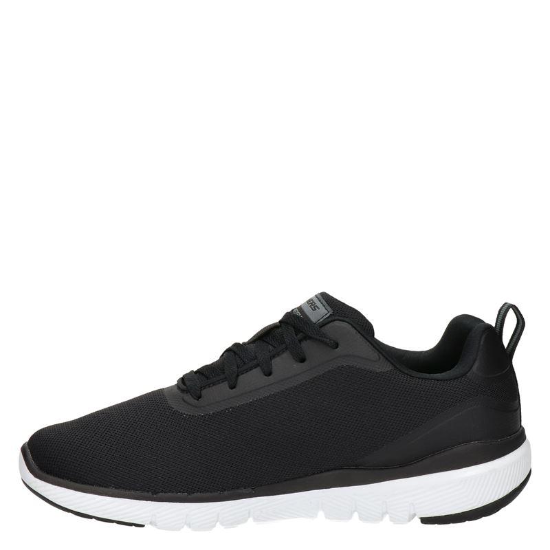 Skechers Flex advantage 3.0 - Lage sneakers - Zwart