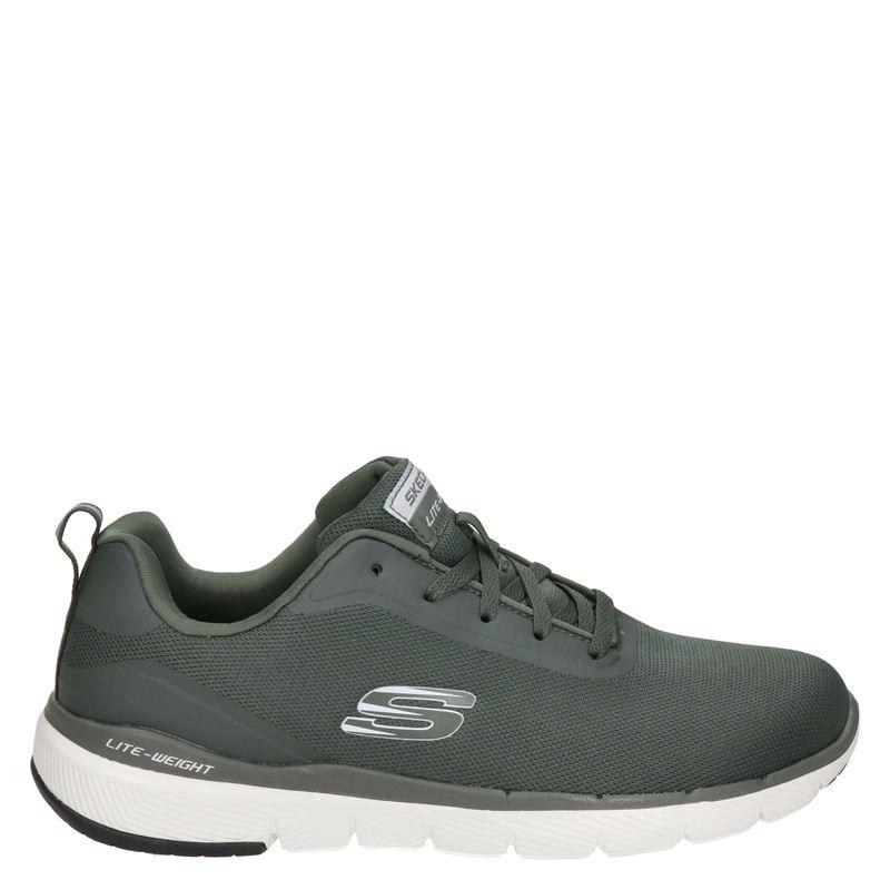 Skechers Flex advantage 3.0 - Lage sneakers - Groen