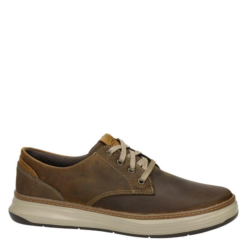 Skechers Moreno Gustom - Lage sneakers - Bruin