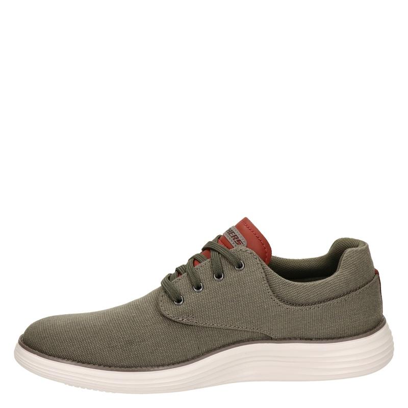 Skechers Burbank - Lage sneakers - Groen
