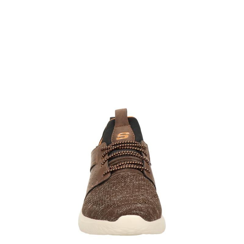 Skechers Delson 3.0 Cicada - Lage sneakers - Bruin