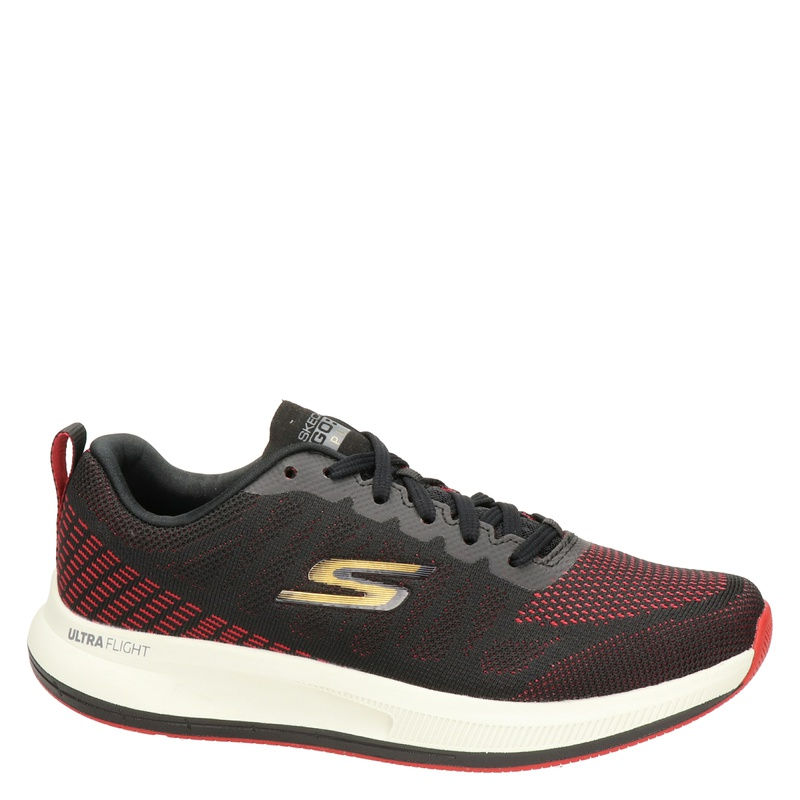 Skechers Go Run Pulse - Lage sneakers - Zwart