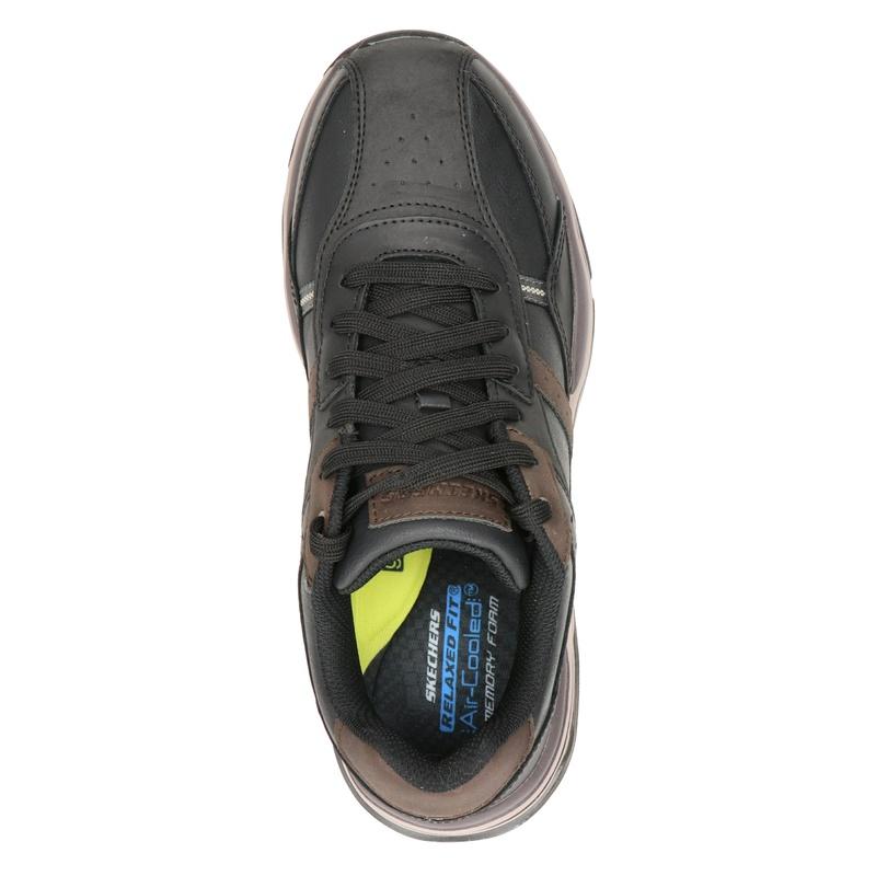 Skechers Romago - Lage sneakers - Zwart