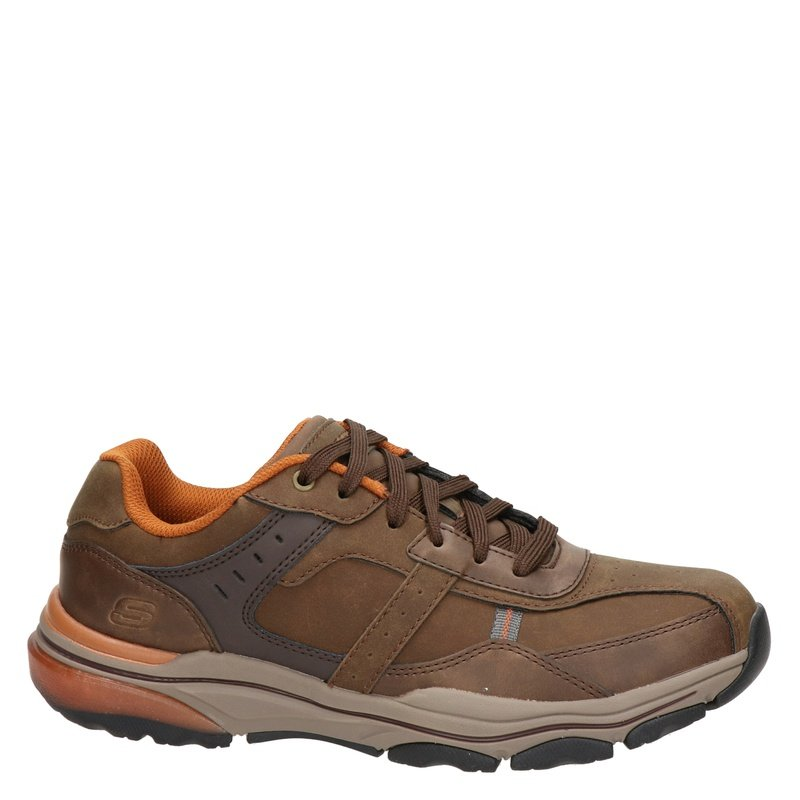 Skechers Romago - Lage sneakers - Bruin