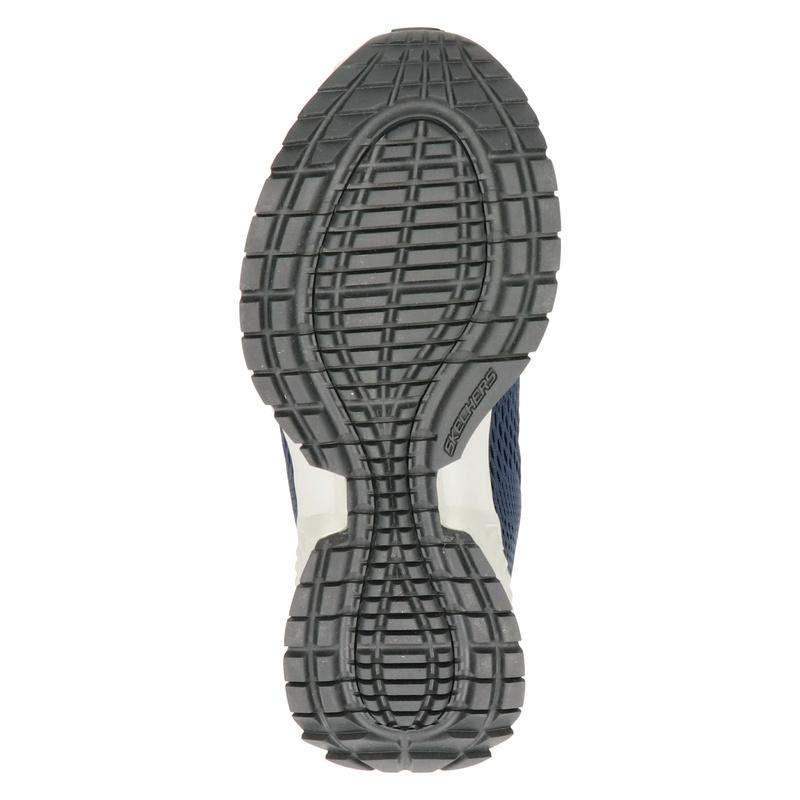 Skechers Street Flex - Lage sneakers - Blauw